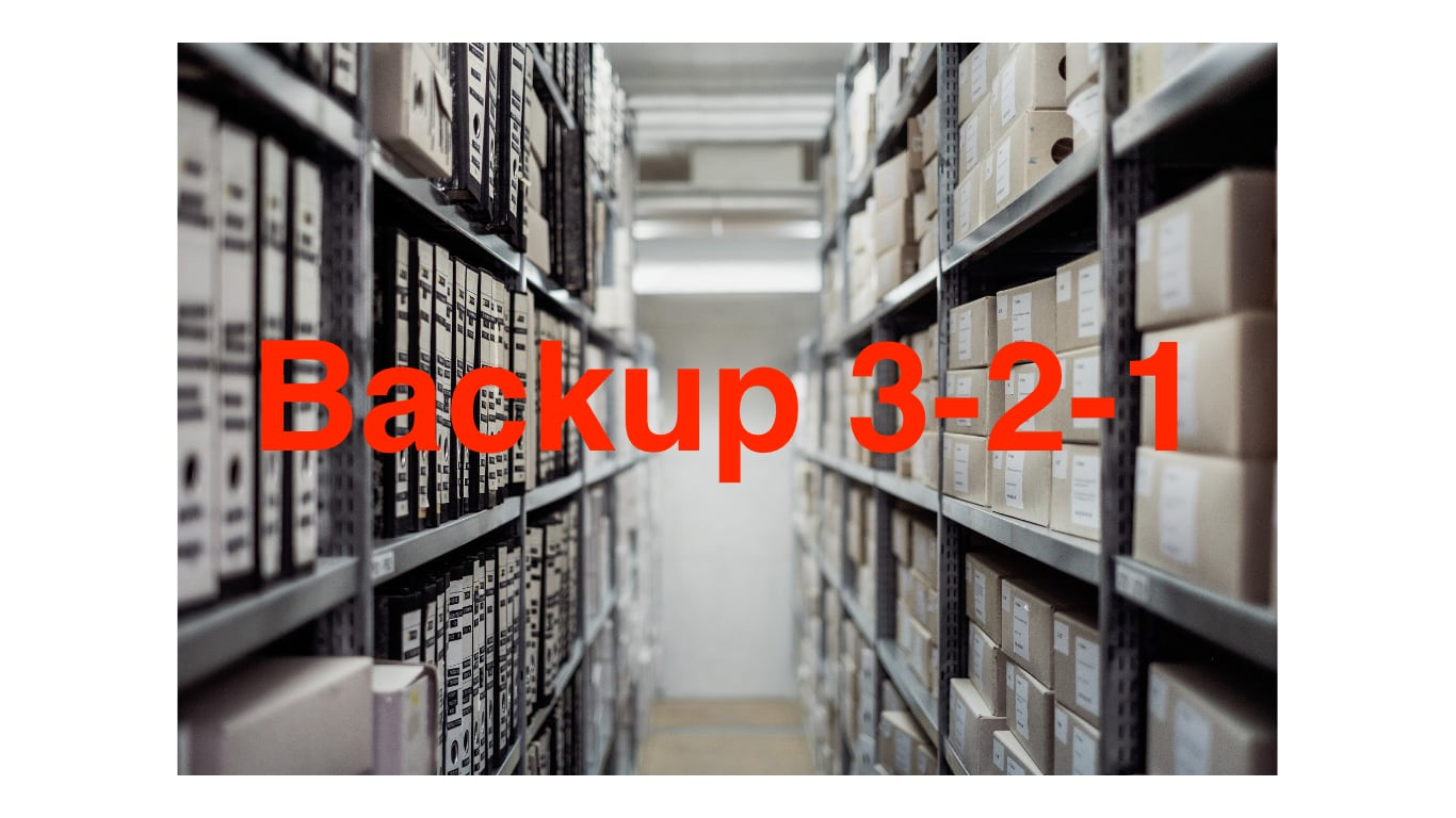 Backup-3-2-1